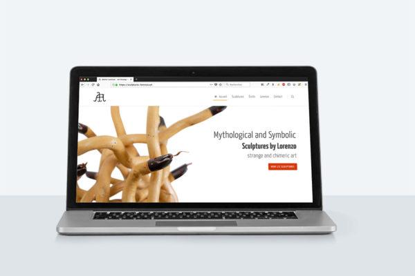 Sculptures Lorenzo - Site Internet
